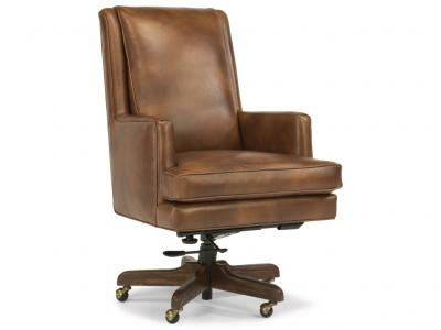 Flexsteel Leather Desk Chair