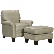 broyhill club chair and ottoman