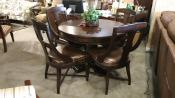 chain mar Hekman game.dining set