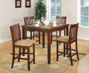 chainmar 5 pc counter height dinette