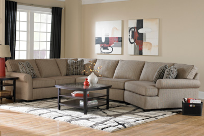 Sectionals Unlimited Chaise Corner Wedge Reclining Power